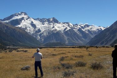 74 Mt Cook Nat. Park 3 - NZ Nieuw-Zeeland - indiv autorondreis   Snow Leopard