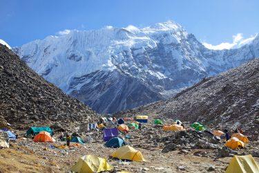 Nepal - Island Peak BC - alpiene expeditie - Snow Leopard