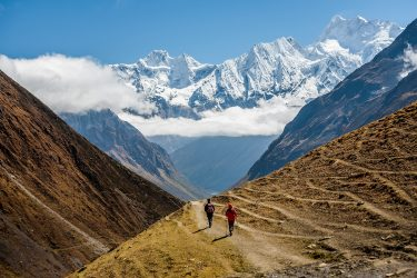 Nepal - Manaslu Rond - trektocht - Snow Leopard (10)