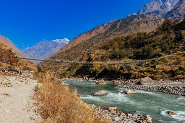 Nepal - Manaslu Rond - trektocht - Snow Leopard (19)