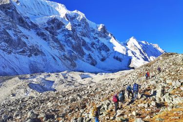 Nepal - Manaslu Rond - trektocht - Snow Leopard (28)