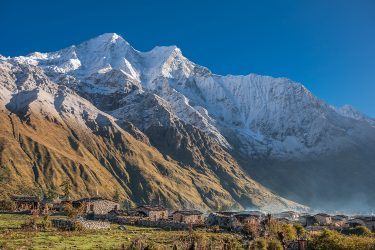Nepal - Manaslu Rond - trektocht - Snow Leopard (5)