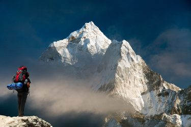 Nepal - Mt Everest - Khumbu trektocht - Snow Leopard (2)
