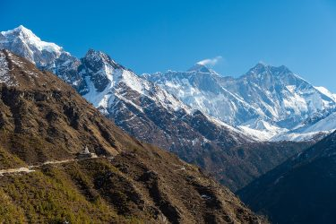 Nepal - Mt Everest - Khumbu trektocht - Snow Leopard (3)