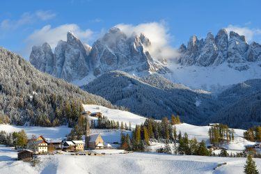 Sneeuwhaas - Italie - Dolomieten - sneeuwschoenwandelen reis (2) snow leopard