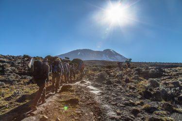 Tanzania - beklimming Kilimanjaro - trektocht Uhuru Peak 5895m Machame Northern Circuit - Snow Leopard (3)