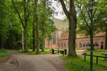 wandelvakantie Westerwolde - Snow Leopard - Donderdag klooster Ter Apel 1